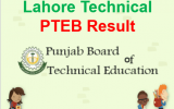 PBTE Result 2018 Punjab Board of Technical Education, Lahore