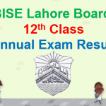 12th Class Result 2018 Lahore Board