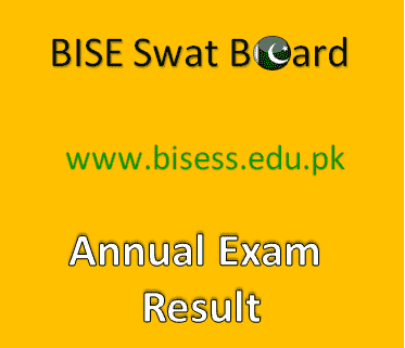 BISE Swat Board Result 2019