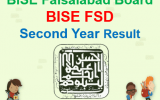BISEFSD Second Year Result 2018
