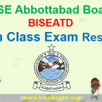 BISE Abbottabad 9th Class Result 2018