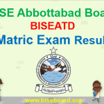 Abbottabad Board Matric Result 2018