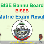 BISE Bannu Board Matric Result 2018