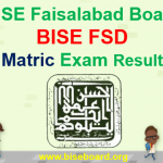 BISE FSD Matric Result 2018