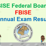 BISE Federal Board FBISE Annual Exam Result 2018