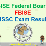 FBISE HSSC Part 2 Result 2018 and FBISE Result 2018 HSSC Part 1
