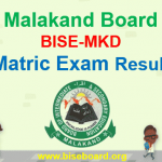 BISE Malakand Board Matric Result 2018