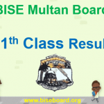 BISE Multan Board 11th Class Result 2018