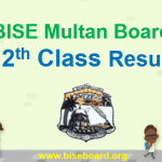 BISE Multan Result 12th 2018