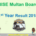 First Year Result 2018 Multan Board