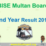 BISE Multan Second Year Result 2018