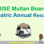 BISE Multan Board Matric Result 2018