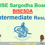BISE Sargodha Board Intermediate Result 2018