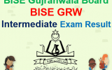 BISE Gujranwala Inter Result 2018