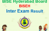 BISE Hyderabad Board Inter Result 2018