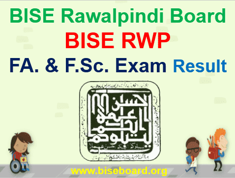 FA and FSC Result BISE Rawalpindi 2019