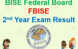 FBISE Second Year Result 2015
