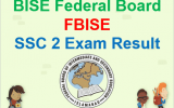 Federal Board SSC 2 Result 2018
