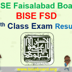 BISE FSD 9th Class Result 2018