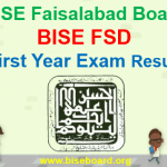 BISE FSD 1st Year Result 2018