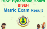 BISEH Matric Result 2018