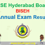 BISEH Hyderabad result 2018
