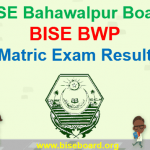 BISE BWP Matric Result 2018