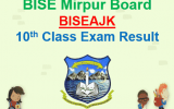 BISE AJK Board Result 2018 10th Class